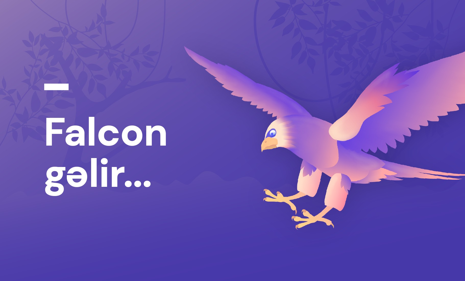 """""""Falcon"""" gəlir.."""